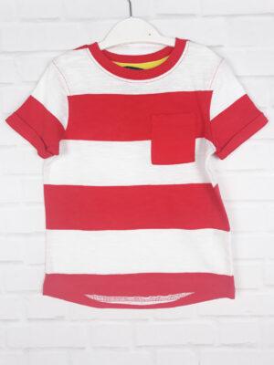 Футболка червоно-білого George