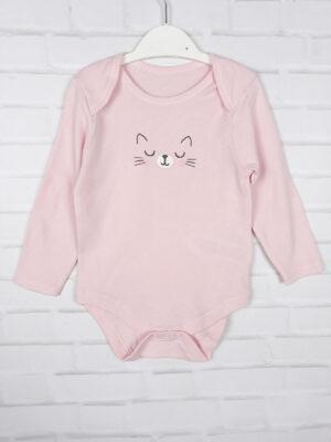Боді рожевий з кішкою Primark