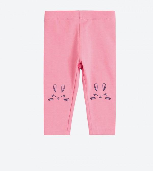 штани розовые с зайкой Cool Club