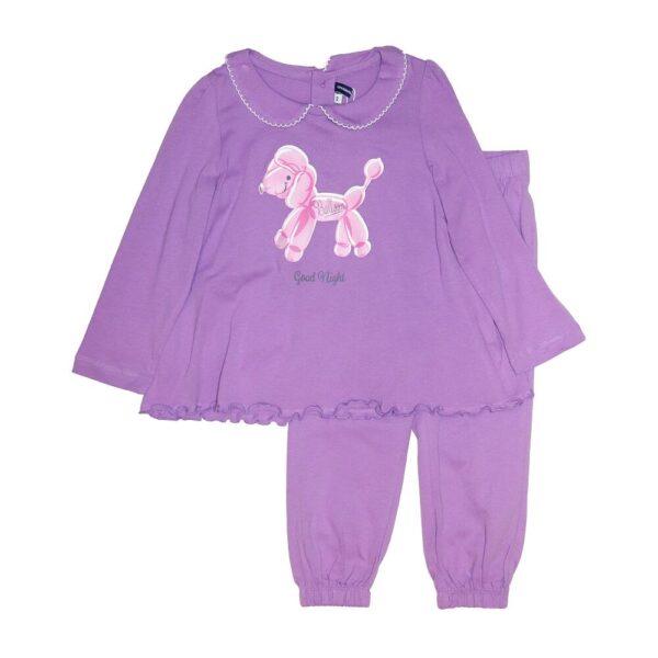 пижама фиолетовая собачкой Original Marines