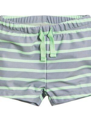 плавки шорты серая и зеленая полоса Cool Club