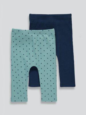 набор штанов синих и бирюзовых Matalan