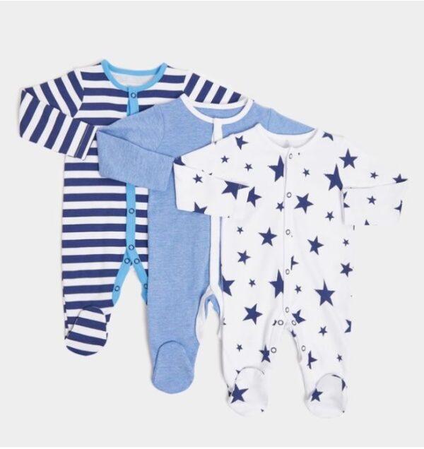 Набор человечков синих со звездами Dunnes Stores