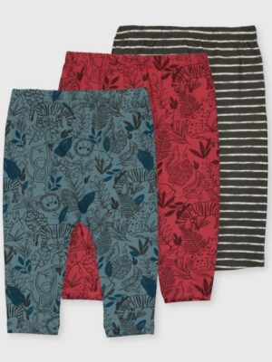 Набір штанів красного та синього кольору TU