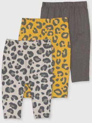 Набір штанів жовтих сірих та коричневих TU