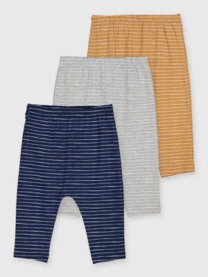 Набір кольорових штанів з білою смужкою TU