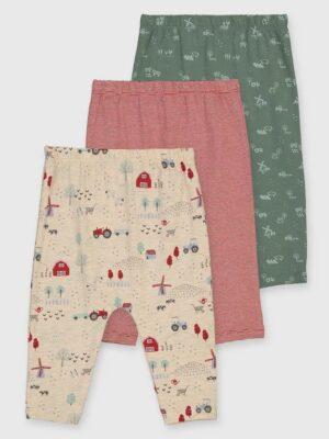 Набір кольорових штанів на фермі TU