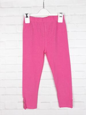 Штани рожеві з ґудзиками TU